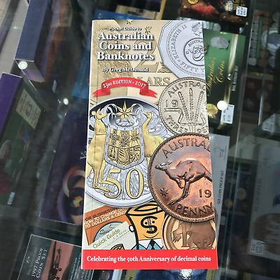 Greg McDonalds 2017 Pocket Guide to Australian Coins Banknotes 23rd Edition Soft