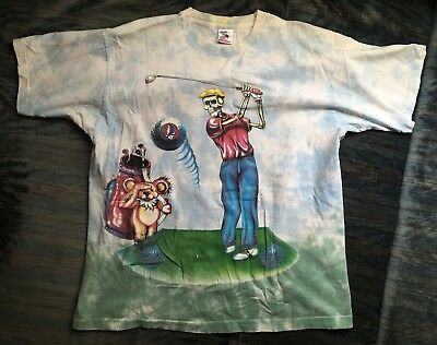 Grateful Dead RARE Vintage 1994 Washington DC Tour Tie Dye Concert T-Shirt Golf