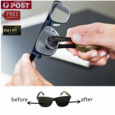 Glasses Sunglasses Eyeglass Spectacles Cleaning Brush Cleaner White WW