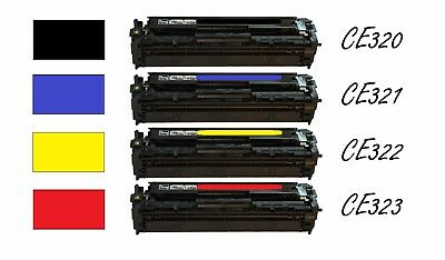 Black CE320 - 320A 128A Color Toner for Hp LaserJet Pro CM1415FNW CP1525NW