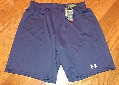 under armour boys shorts size youth XL Navy Blue Brand New w/ Tags