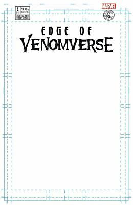 Edge Of Venomverse 1 Blank Sketch Variant Nm Rare 3000 Venom Carnage Spiderman