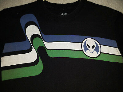 shirt black alien limitless ufo skater skate style 90s space being area 51 boys
