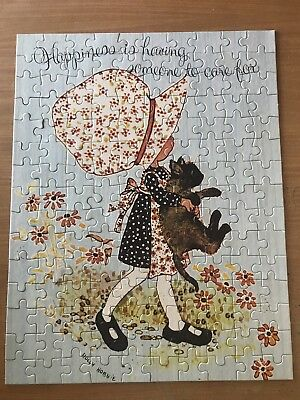 Vintage Holly Hobbie Jigsaw 150 Piece John Sands Complete Vgc