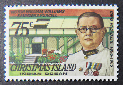 1978 Christmas Island Stamps - Famous Visitors Definitives - Single 75c MNH