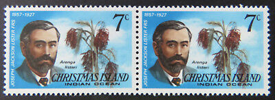 1978 Christmas Island Stamps - Famous Visitors Definitives - Double 7c MNH