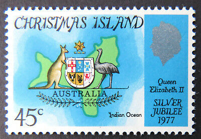 1977 Christmas Island Stamps - Silver Jubilee Queen Elizabeth II - Single MNH