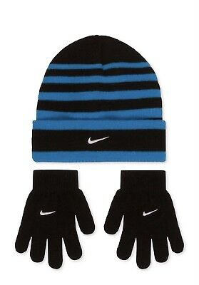 Nike Boy's 8-20 Hat and Gloves Set