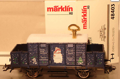 Marklin HO:  48403  Christmas Car 2003   ***Limited Edition***