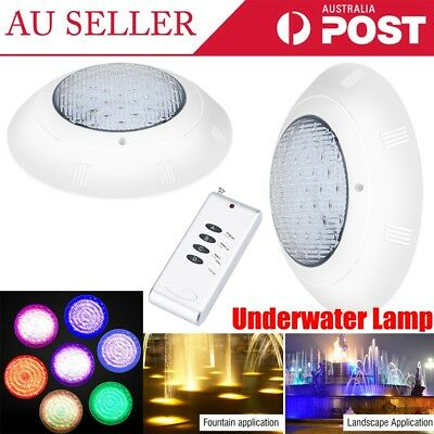 252 LED 7 Color Swimming Pool SPA RGB Light Underwater AC12V 18W IP68 Waterproof