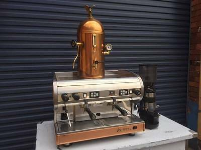 SAN MARINO Coffee Machine and Grinder Package