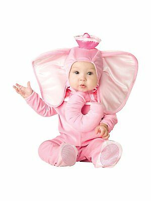 Fun World InCharacter Costumes Babys Pink Elephant Costume, Pink, X-Small