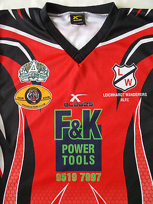 Leihhardt Wanderers 2008 Rugby League Jersey #12 Size 38/95Cm