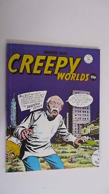 AMAZING TALES: CREEPY WORLDS #249 UK Edition, very good condition