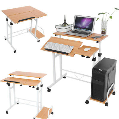 deuba computertisch schreibtisch pc tisch computerwagen arbeitstisch b rotisch eur 24 95. Black Bedroom Furniture Sets. Home Design Ideas