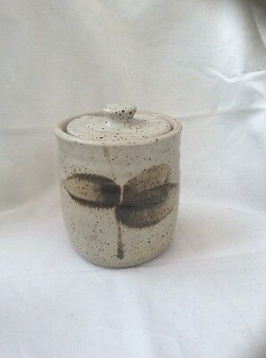 Decorative Studio Pottery Jam Pot