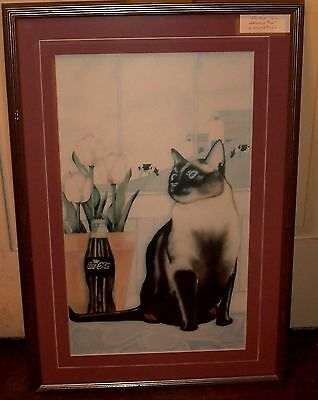 THE REAL THING by Tony Diodati 1993 #16 of 250! MATTE/FRAMED! COCA COLA CDN ART!