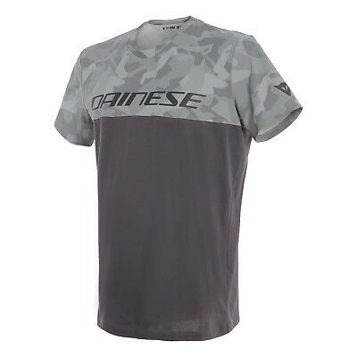 Dainese Camo-Tracks T-Shirt anthrazit Größe L NEU / NEW Shirt
