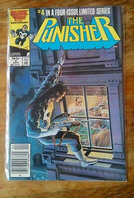 Marvel Comics THE PUNISHER #4 April 1985 LIMITED SERIES