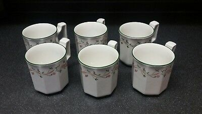 Eternal Beau  Six Coffee Mugs Johnson Brothers