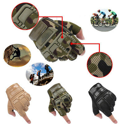 Men's Army Military Tactical Combat Bicycle Airsoft Half Finger Gloves Exquisite