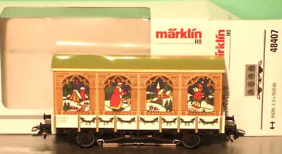 Marklin HO:  48407 Christmas Car 2007   ***Limited Edition***