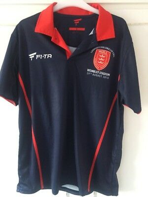 Hull Kingston Rovers Polo Shirt Wembley 2015 Size Large Excellent Condition.