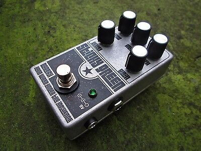DopeFx -  Muff Green Fuzz Russian Mods Guitar Effects Pedal