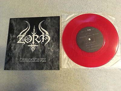 "Zorn / Battlehorns Genickschuss / Pestenberserker 2002 7""EP Single Limited 666"