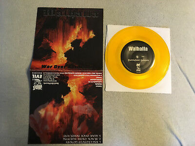 "Walhalla War Over Nordland 7""EP Single Root Of All Evil 1997 Ltd 666 Copies"