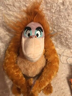 Disney The Jungle Book King Louie Soft/Plush Toy 30cm Tall When Sitting BNWT