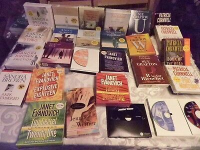 Lot of 30 Audio Books Excellent Condition Many Authors Great Gift