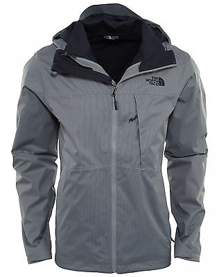 f88a9b558 North Face Arrowood TriClimate Mens A2TCN-STJ Grey Navy DryVent Jacket Size  XL