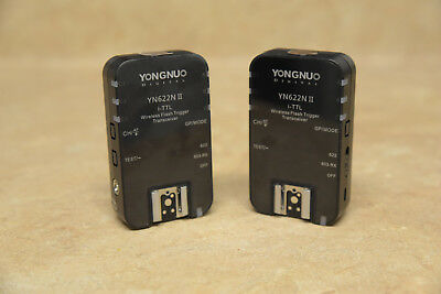 YONGNUO YN622N II 2.4G i-TTL Flash Trigger Receiver Transmitter for Nikon
