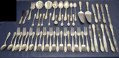 Towle King Richard Sterling Silver 53 Piece Set