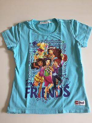 Lego Wear Lego Friends Mädchen T-Shirt Gr. 104 **TOP**