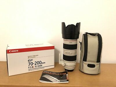 Canon EF 70-200mm f/2.8L IS USM Lens Top Zustand!!