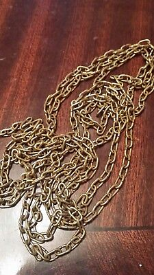 """70"""" clock chain 54 lpf vintage new old stock approx"""