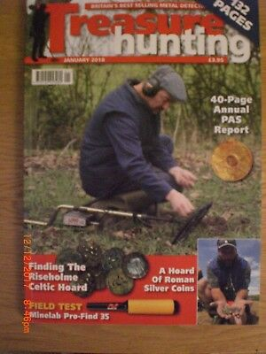 Treasure Hunting JANUARY 2018 Metal Detecting Magazine