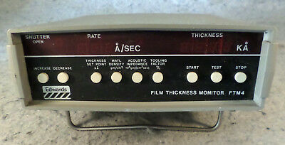 Edwards Film Thickness and Rate Monitor FTM4 (C19B4)