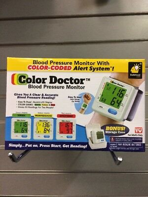Color Doctor Blood Pressure Monitor,