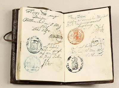 1833-37 | continental passports of Sir Bennett | many stamps | lord aberdeen
