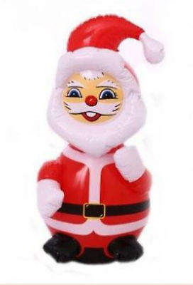 Inflatable Father Christmas Santa Claus traditional vintage xmas decoration