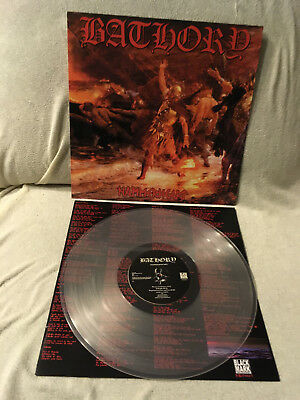 Bathory Hammerheart LP Clear Vinyl Black Mark Prod.
