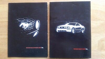 2006 Ford Mustang Operators Manual and Reference Guide Used Authentic No case