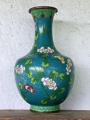 Antique Vintage Chinese Cloisonne Vase