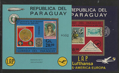 Paraguay postfr. Bl.    siehe scan