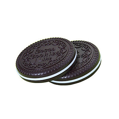 Comb Compact Chocolate Pocket Mini Mirror Biscuits Beauty Makeup Cookie