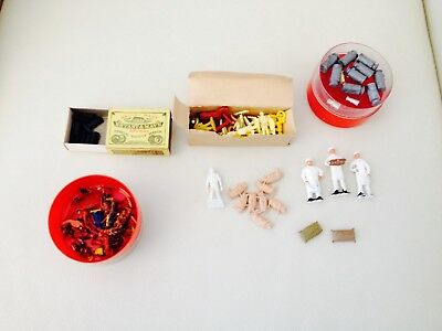 Bulk Lot of Model Railway Assorted Figures People Pigs + More - Must be Sold
