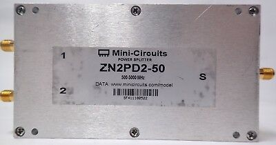 MINI-CIRCUITS ZN2PD2-50 500-5000 MHz DC PASS POWER SPLITTER / COMBINER